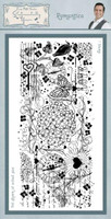 Creative Expressions Sentimentally Yours Rubber Stamps By Phill Martin - Romantica