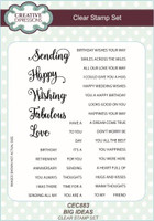 Creative Expressions Clear Stamps - Big Ideas