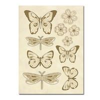 Stamperia Wooden Frames A5 Size - Butterflies