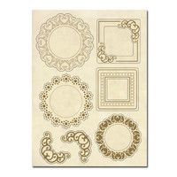 Stamperia Wooden Frames A5 Size - Frames And Angles