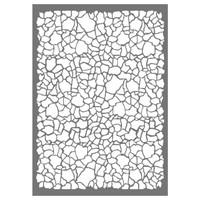 Stamperia Large Stencils - Crackle