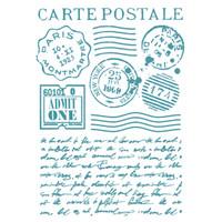 Stamperia Large Stencils - Post Card