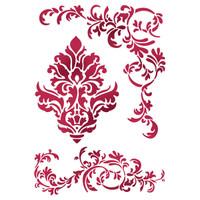 Stamperia Large Stencils - Friezes