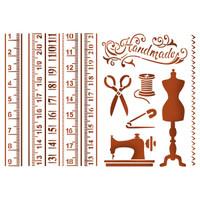 Stamperia Large Stencils - Atelier