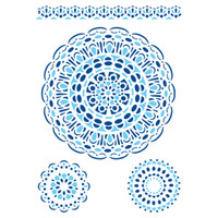 Stamperia Large Stencils - Lace