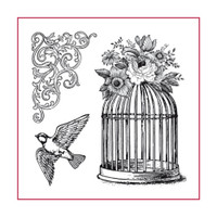 Stamperia High Definition Rubber Stamp - Cage