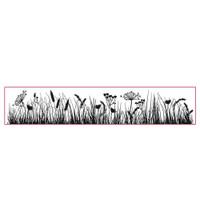 Stamperia High Definition Rubber Stamp - Grassland