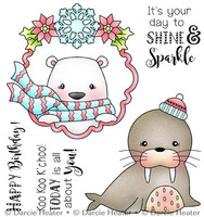 Darcie's Heart & Home Cling Stamp Set - Koo Koo K'Choo