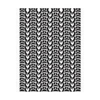 Darice A2 Embossing Folder - Knit Sweater