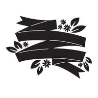 Darice A2 Embossing Folder - Banner Floral