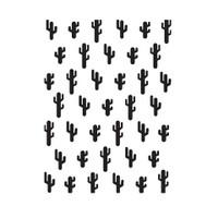 Darice A2 Embossing Folder - Cacti