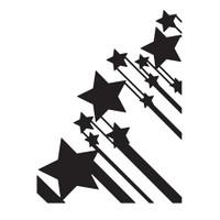 Darice A2 Embossing Folder - Stars