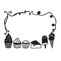 Darice A2 Embossing Folder - Desserts