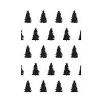 Darice A2 Embossing Folder - Evergreen
