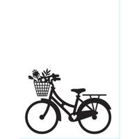 Darice A2 Embossing Folder - Bike