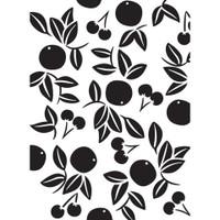 Darice A2 Embossing Folder - Cherry