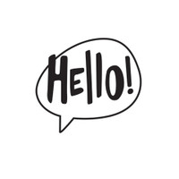 Darice A2 Embossing Folder - Hello
