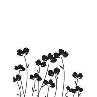 Darice A2 Embossing Folder - Flowers