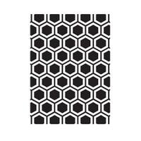 Darice A2 Embossing Folder - Honeycomb #2