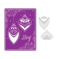 Sizzix Impresslits Embossing Folder by Courtney Chilson - Season of Joy