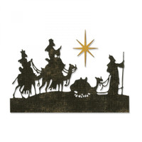 Sizzix Thinlits Die Set 2PK By Tim Holtz  - Wise Men