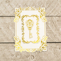 Couture Creations Modern Essentials Cut & Foil Die - Decorative Nesting Treasured Frames