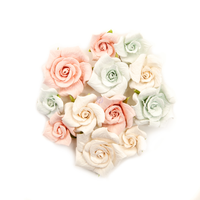 Prima Marketing, Poetic Rose Paper Flowers 12/Pkg - Fairytales