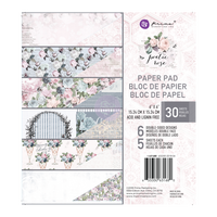 Prima Marketing, Poetic Rose Double-Sided 6X6 Paper Pad