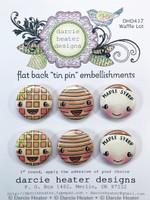 Darcie's Heart & Home Tin Pins - Waffle Lot