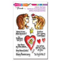 Stampendous Perfectly Clear Stamps - Gorilla Love