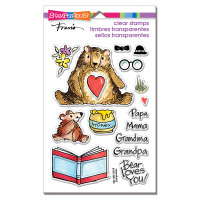 Stampendous Perfectly Clear Stamps - Honey Bears