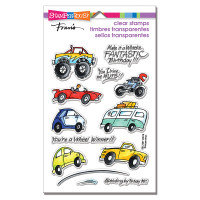 Stampendous Perfectly Clear Stamps - Wheels