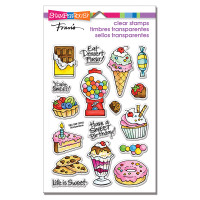 Stampendous Perfectly Clear Stamps - Sweet Treats