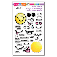 Stampendous Perfectly Clear Stamps - Emojis