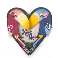 Sizzix Thinlits Die Set 6PK - Card, Kiss Me Gatefold