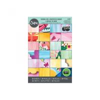 "Sizzix Paper - 4"" x 6"" Cardstock Pad, Sending Love, 36 Sheets"