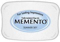 Memento Full Size Ink Pad - Summer Sky