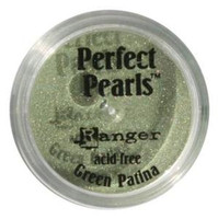 Perfect Pearls Powders by Ranger Ink - Green Patina