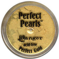 Perfect Pearls Powders by Ranger Ink - Perfect Gold
