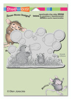 Stampendous: House Mouse Stamps - Blowing Bubbles