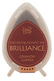 Dew Drop Brilliance Inks - Metallic Crimson Copper