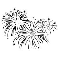 Darice A2 Embossing Folder - Fireworks