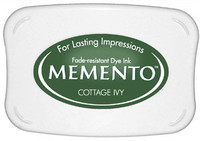 Memento Full Size Ink Pad - Cottage Ivy