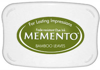 Memento Full Size Ink Pad - Bamboo Leaves