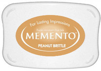 Memento Full Size Ink Pad - Peanut Brittle