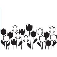 Darice A2 Embossing Folder - Spring Tulip