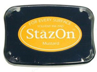 StazOn Permanent Ink Pad - Mustard
