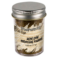 Stampendous Shabby Embossing Enamels - Aged Gold
