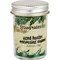 Stampendous Shabby Embossing Enamels - Aged Hunter