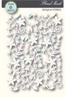 Memory Box Stencils - Floral Mesh